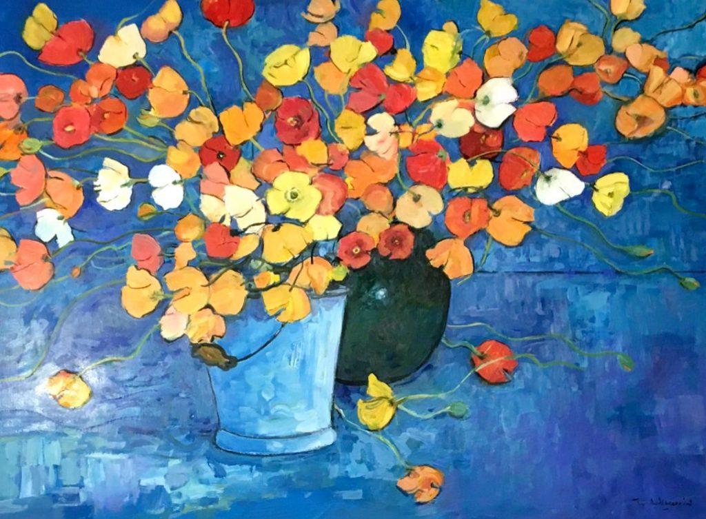 Poppies by Wim Boissevain