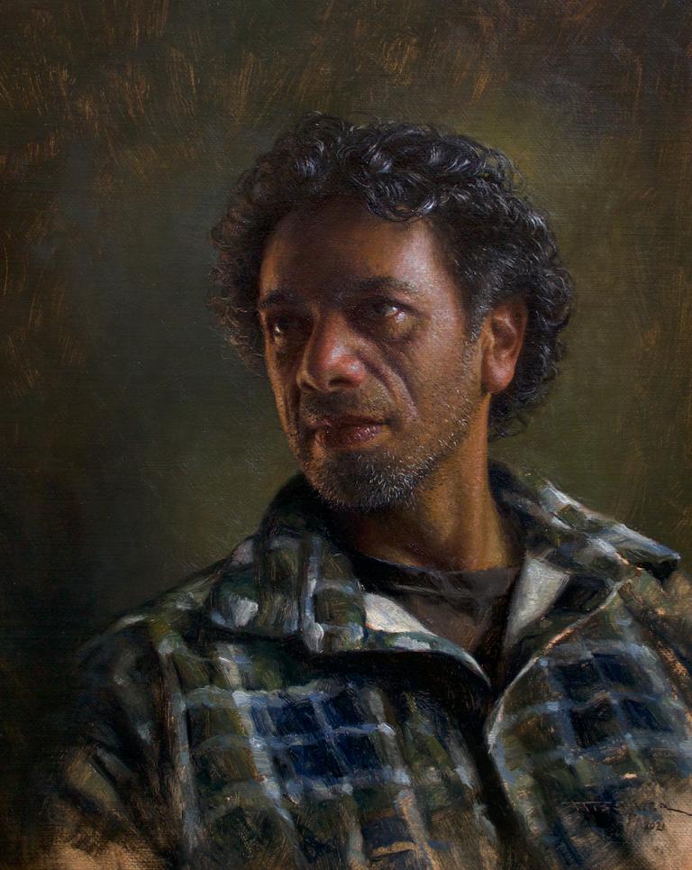 Andrew Tischler's Eddy oil painting product