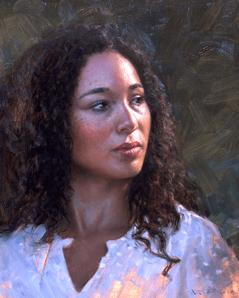 Andrew Tischler's Kimmie oil painting product