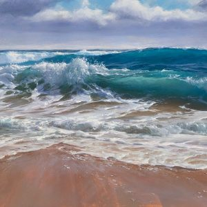 """Andrew Tischler's """"Southern Shore"""" oil painting product"""