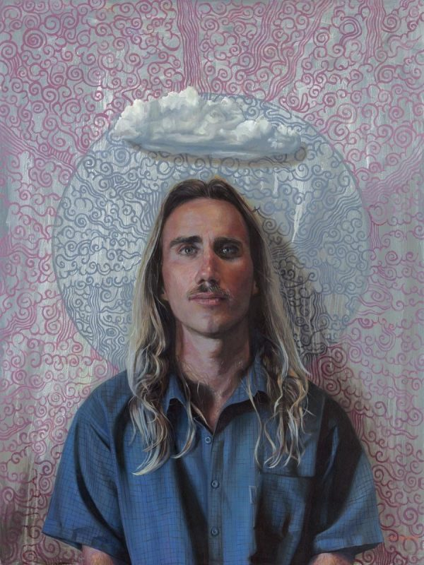 Cameron Richards' Get Your Head in the Clouds oil painting product