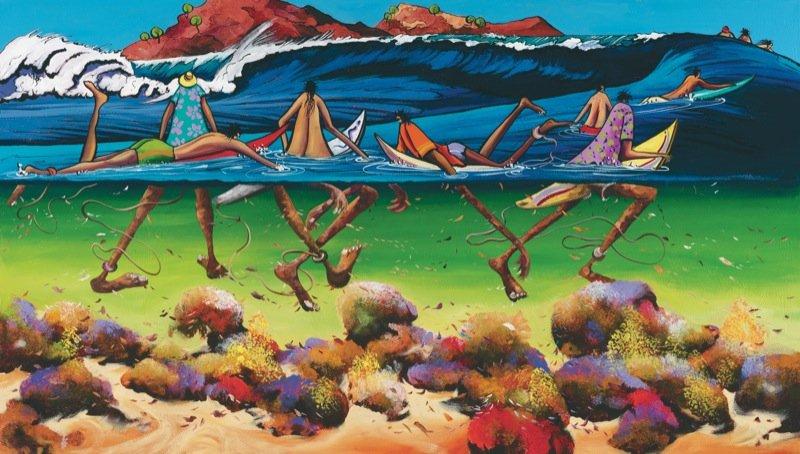 Donald Waters Great Set Art Print