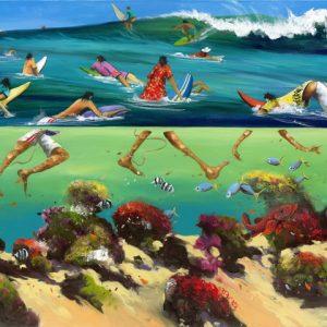Donald Waters Traffic Great Art Print