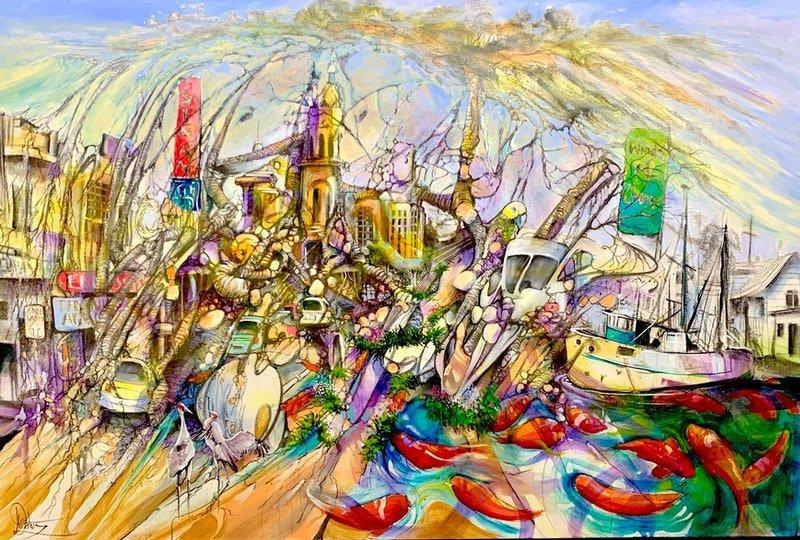 Donald Waters Winds Of Change Art Print