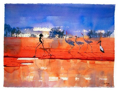 Judy Prosser's At Dingo Creek Giclee Print