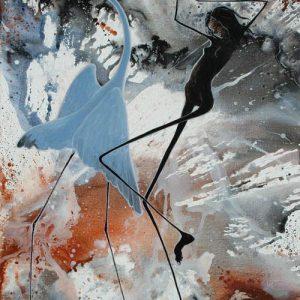 Judy Prosser's Cyclone Dancers Giclee Print