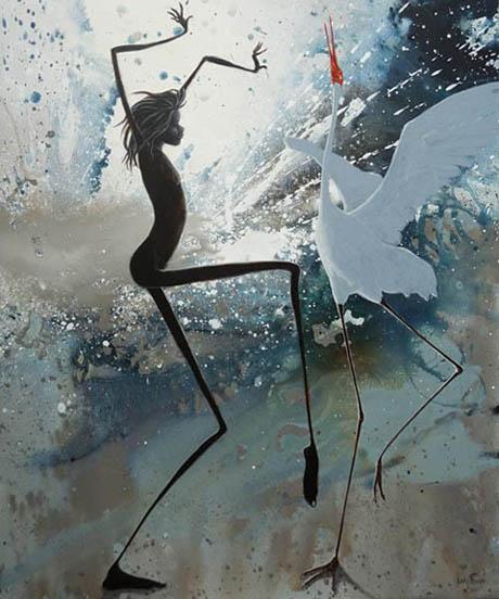 Judy Prosser's Storm Dancers Giclee Print