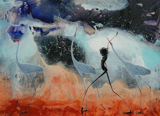 Judy Prosser's Under a Kimberly Nigh Sky Giclee Print