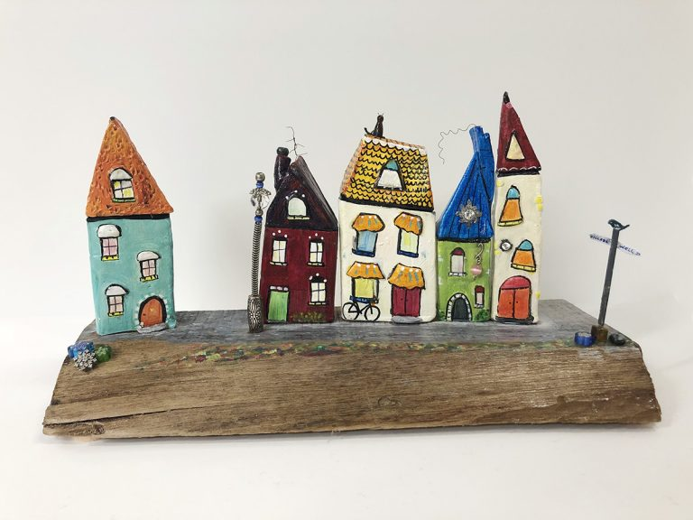 """Kathryn Stanley-Hart's """"Pendleton Place"""" Clay Sculpture product"""