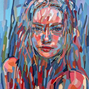 "Noemi Safir's ""Fully Tuned"" original painting product"
