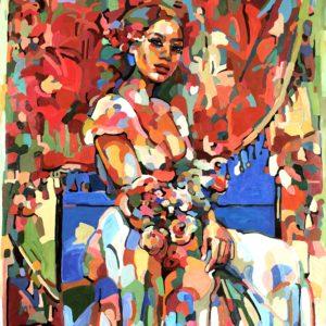 "Noemi Safir's ""My Play"" original painting product"