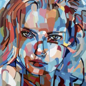 "Noemi Safir's ""The Expanding"" original painting product"
