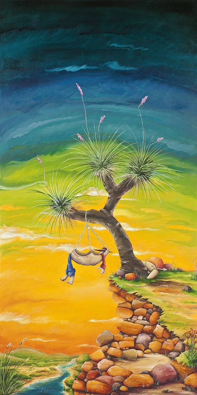 "Peter Ryan's ""Hanging Around"" Limited Edition Print"