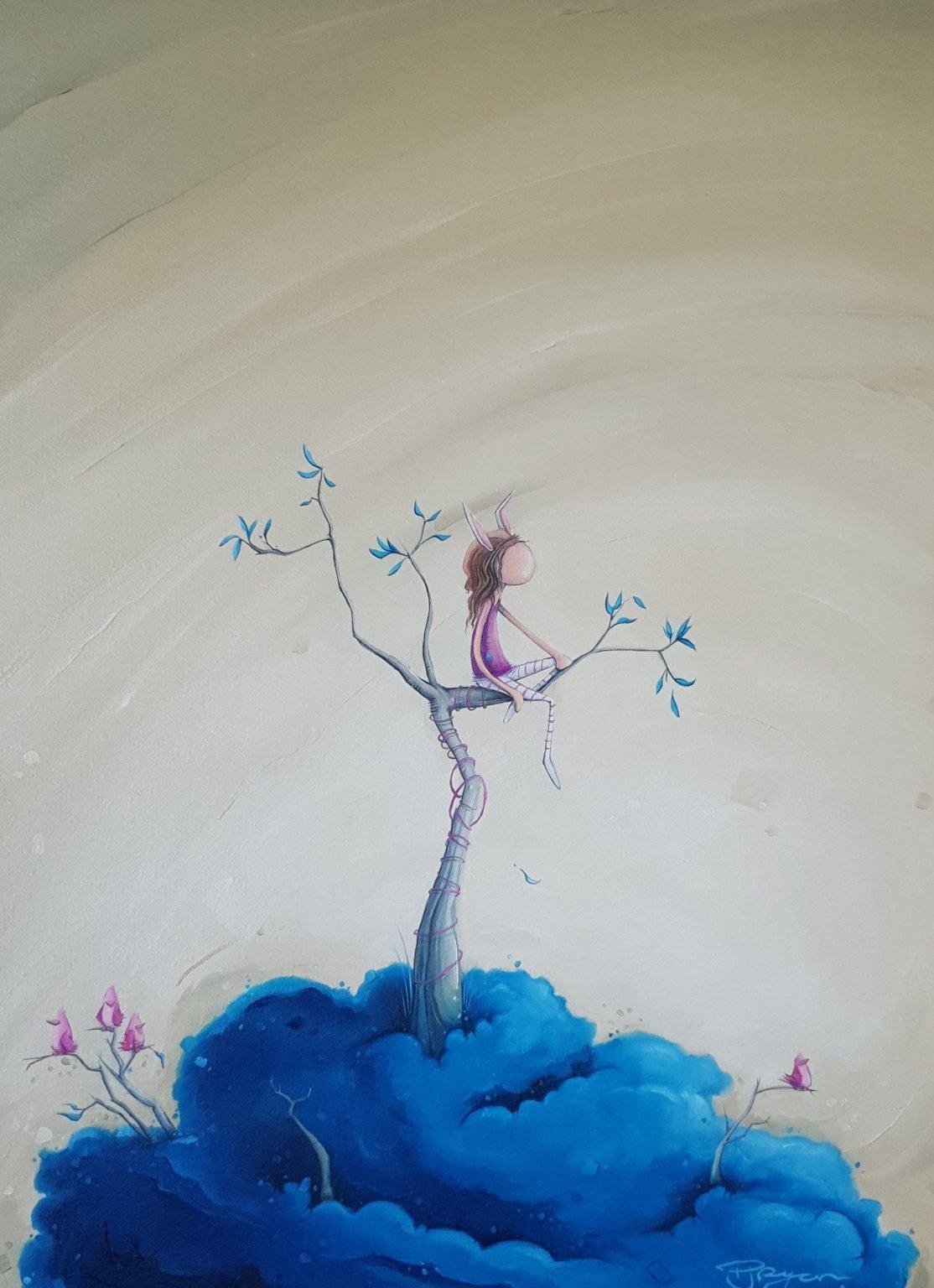 "Peter Ryan's ""Skye High"" oil painting product"