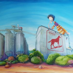 """Peter Ryan's """"Designing the Dingo Flour Mill"""" Limited Edition Print"""