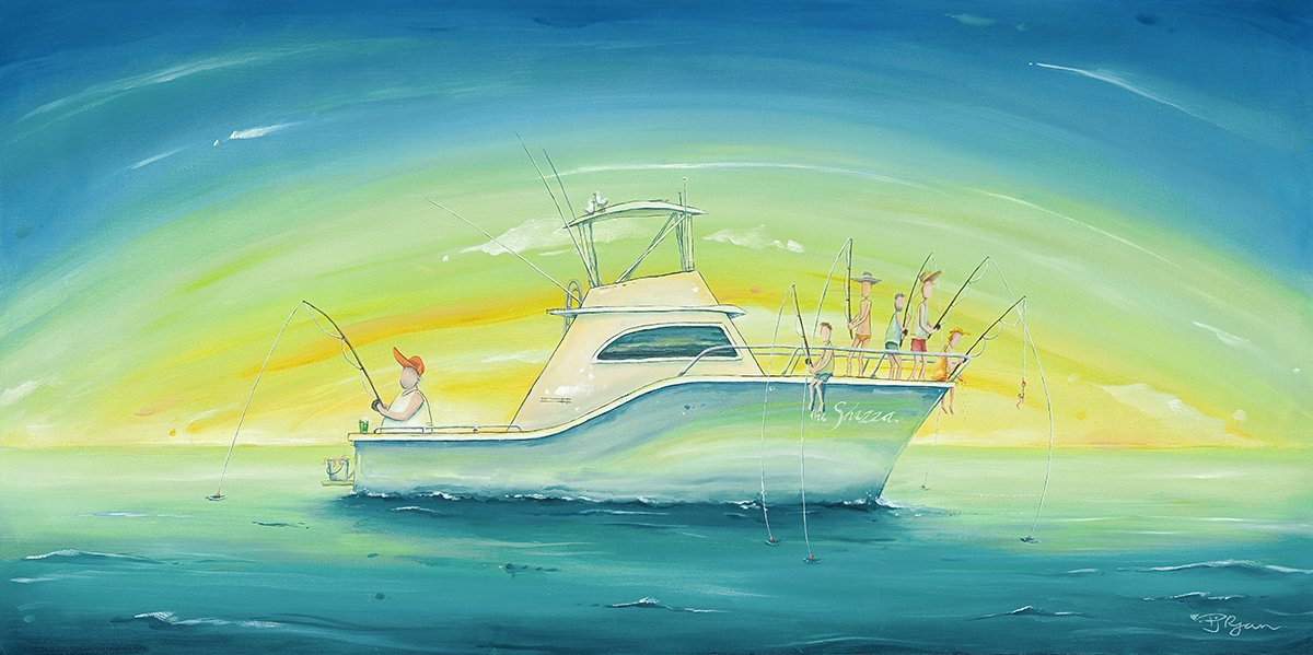 """Peter Ryan's """"Even Keel"""" Limited Edition Print"""
