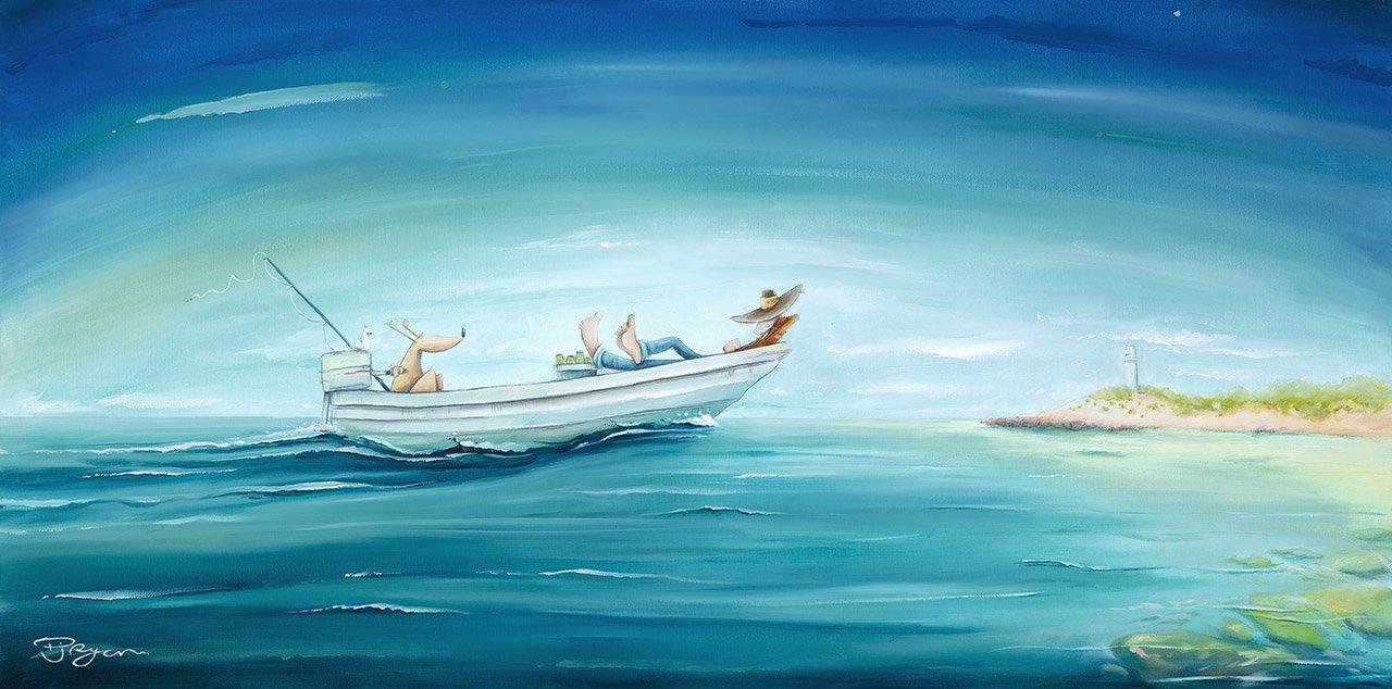 "Peter Ryan's ""Sleepy Skipper"" Limited Edition Print"