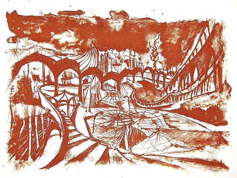 Christin Lutze's Phantasia Lithographie