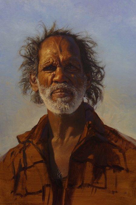 """Andrew Tischler's """"Richard Hunter"""" oil painting product"""