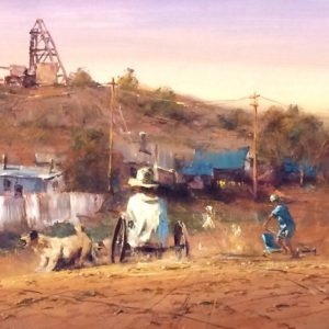 Robert Hagan's Go Carts oil painting product
