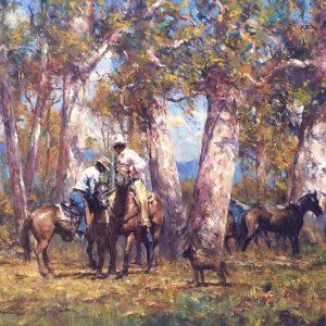 Robert Hagan's Quiet Moment oil painting product
