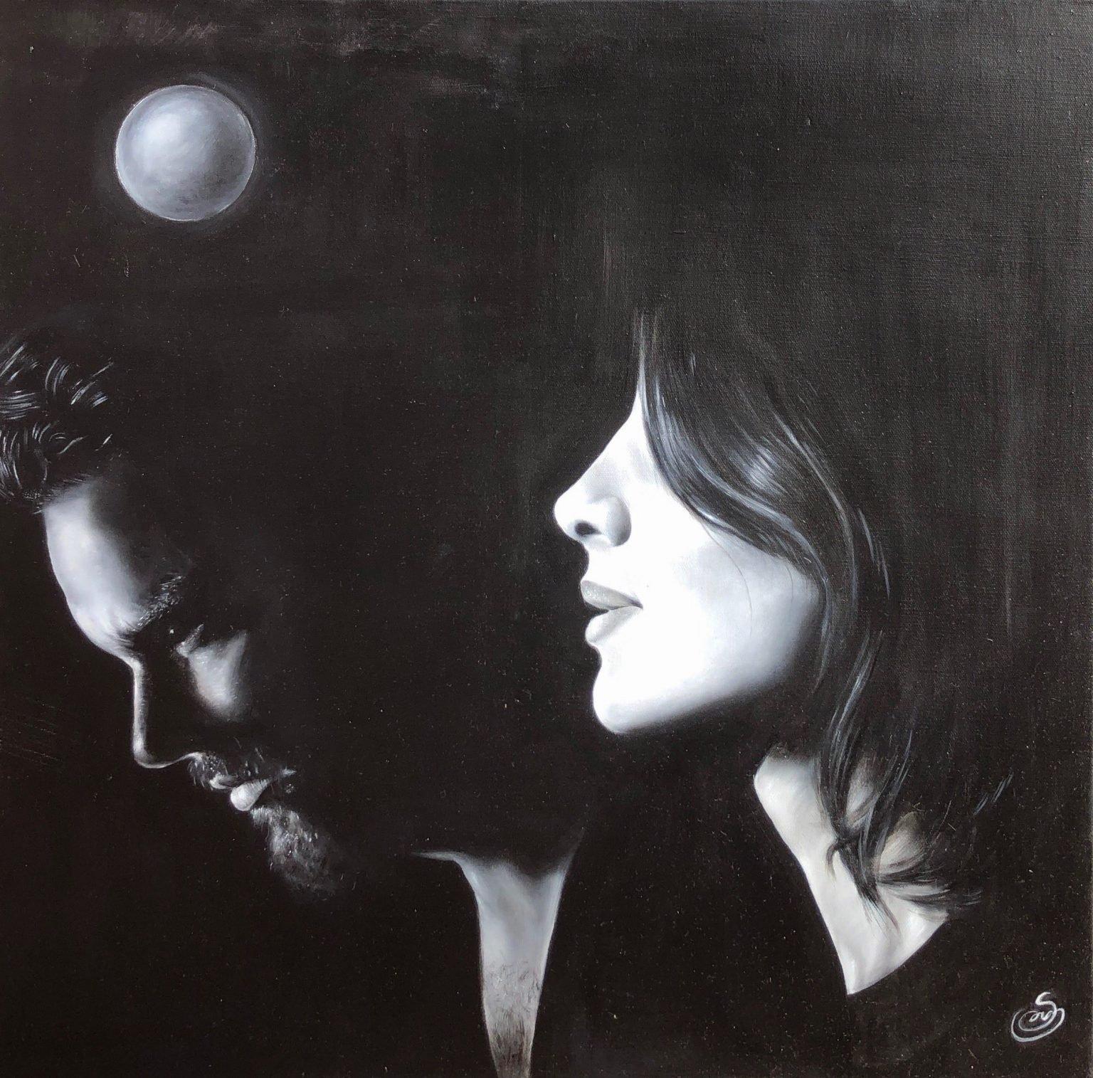 "Sanaz Valizadeh's ""Dream"" original painting product"