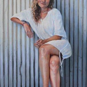 Cameron Richards' Sarah oil painting product
