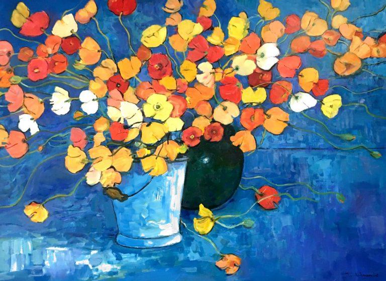 Wim Boissevain Poppies original product